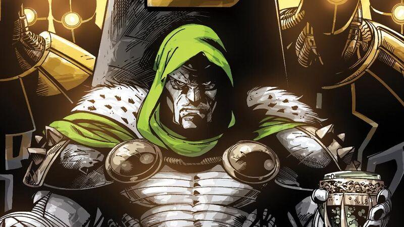 Doctor Doom Fantastic Four comic
