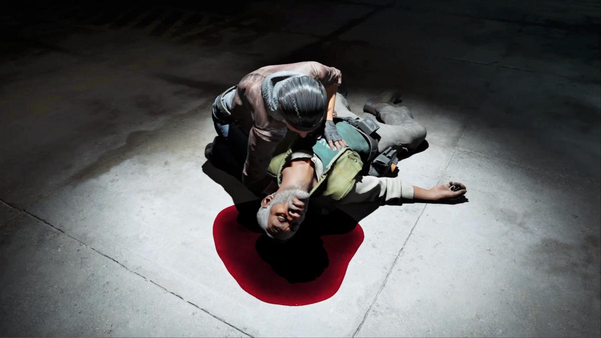 Half-Life Alyx recreates the death of Eli