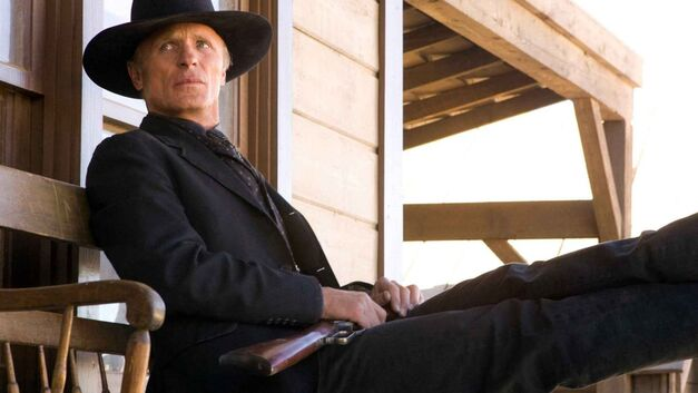 Ed Harris as The Gunslinger aka The Man in Black in Westworld