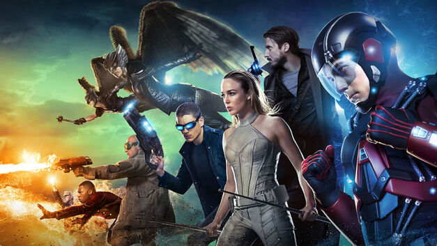 legends of tomorrow blu-ray team