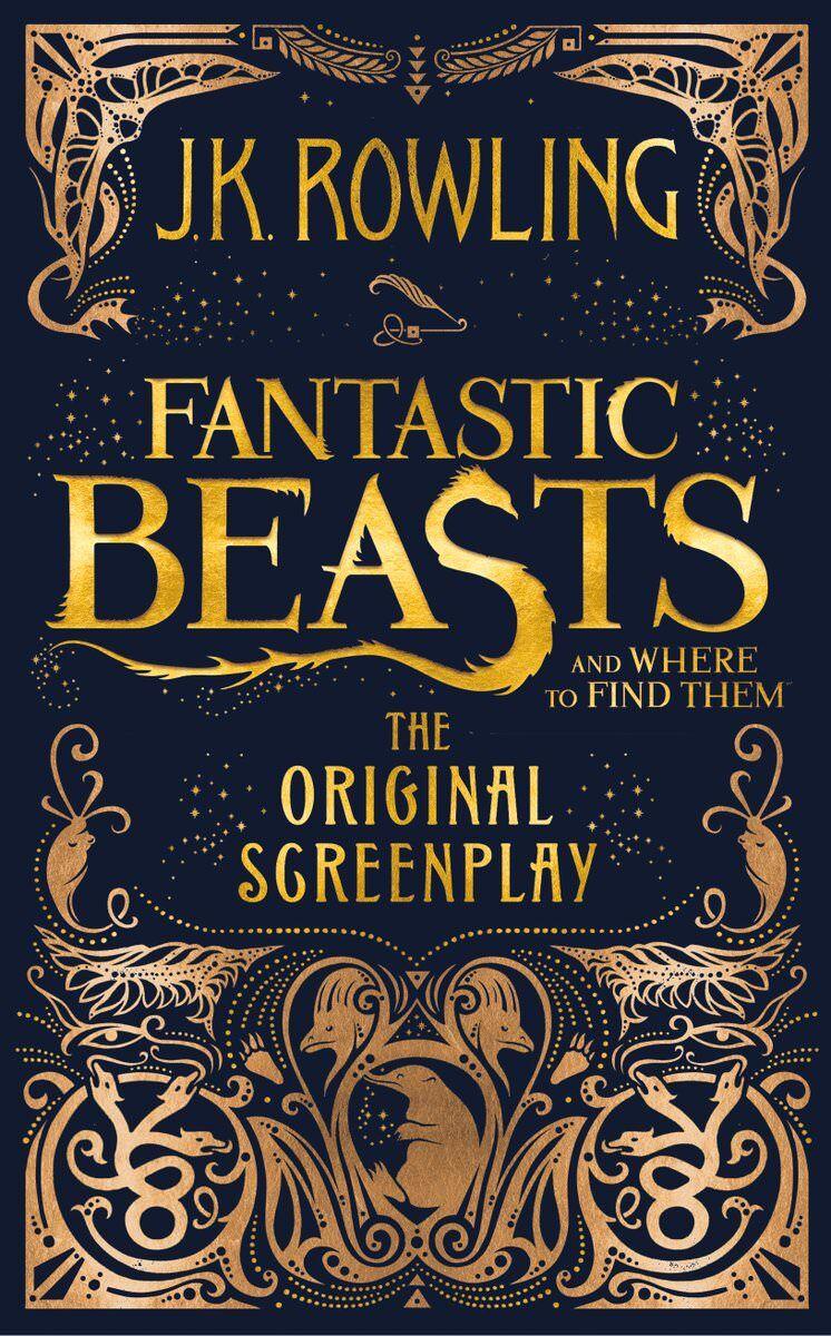 Fantastic Beasts Screenplay cover.