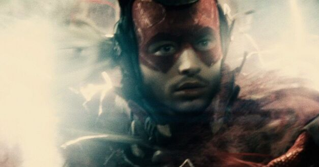 Ezra Miller Flash in Batman V Superman