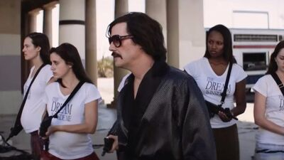 What Is 'The Bad Batch' and Why Does Keanu Reeves Look Like Pablo Escobar in It?