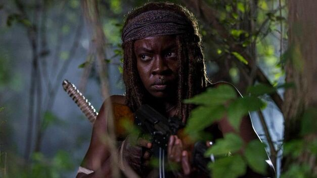 the walking dead season 8 michonne