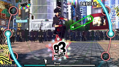 'Persona 3 & 5 Dancing' Review: A Clunky but Charming Velvet Room Dance-Off