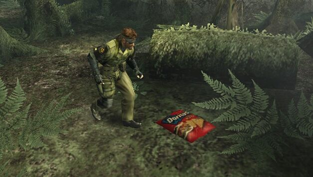 A screenshot of Metal Gear Solid: Peace Walker.