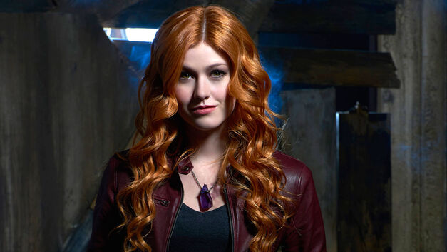 McNamara as Clary Fray