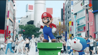 Watch Mario, Pac-Man and More Bring The Olympics to Tokyo in 2020