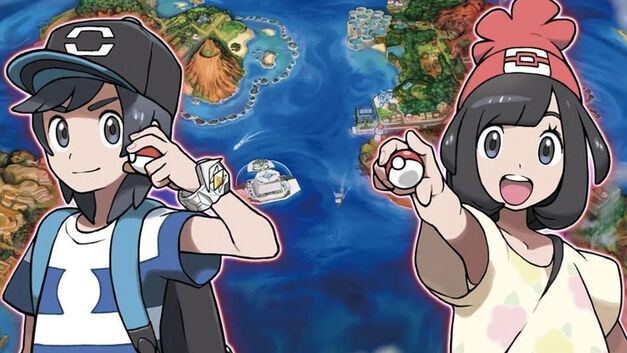 Pokemon Sun and Moon trainers