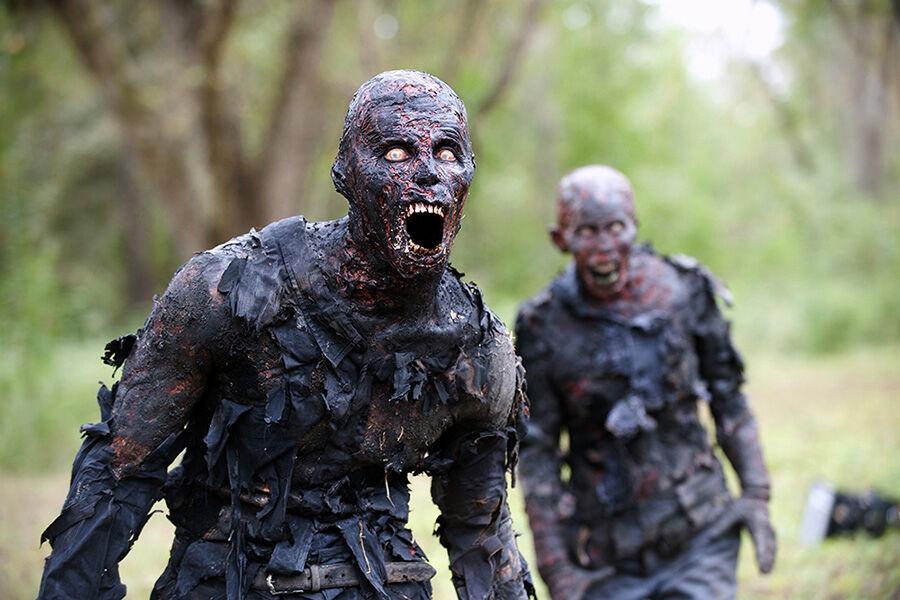 Walkers - The Walking Dead _ Season 4, Episode 14 - Photo Credit: Gene Page/AMC