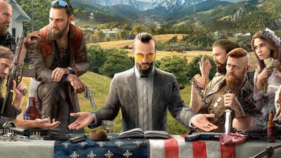 There So Much Going on in This 'Far Cry 5' Art