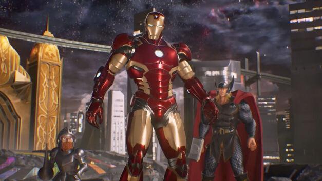 Iron Man – Marvel vs Capcom Infinite Roster