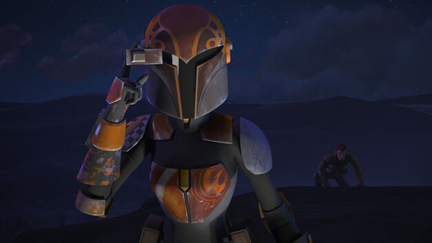 "Star Wars Rebels, ""The Protector of Concord Dawn"": Sabine Wren"