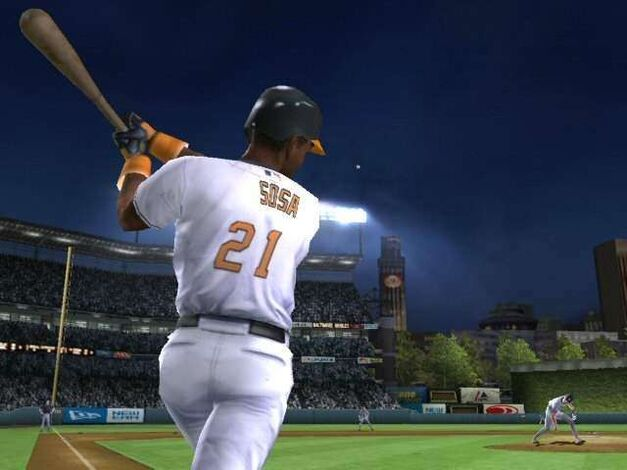 Sammy Sosa in MVP Baseball 2005