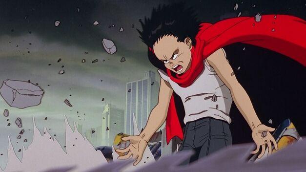 A still from the original Akira.