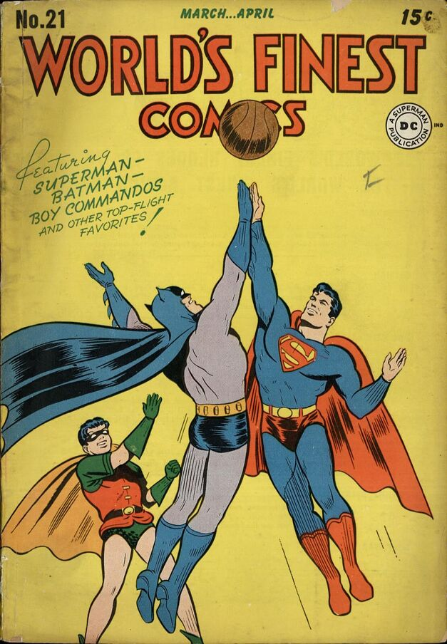 Batman and Superman used to play hoops together, for goodness sake!
