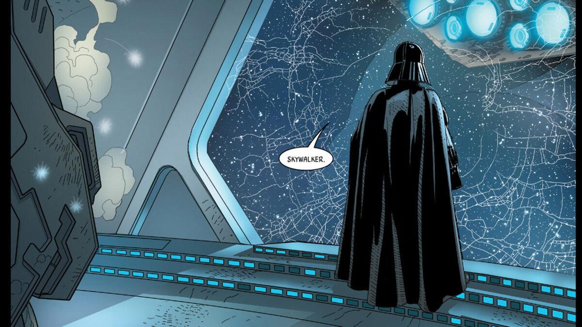 Darth Vader's revelation - Star Wars comic series