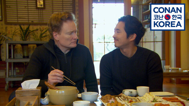 conan o'brien korea remote