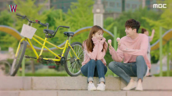 K-drama W Two Worlds