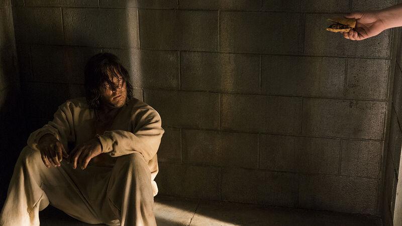 Norman Reedus as Daryl Dixon - The Walking Dead _ Season 7, Episode 3 - Photo Credit: Gene Page/AMC