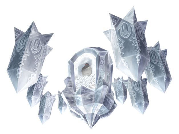 Twilit Ice Mass: Blizzeta