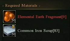 Common ingot earth