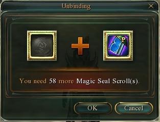 Magic Seal Scroll