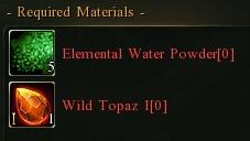 Topaz to emerald