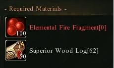 Super wood fire