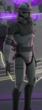 Unidentified clone trooper Kamino Team 3