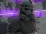 Unidentified Kamino Security Team clone trooper 3
