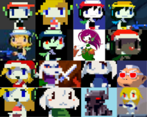 Cave story costumes