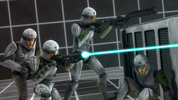 Clone trooper training