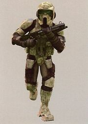 Clone scout trooper