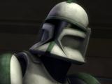 Unidentified Green Company trooper
