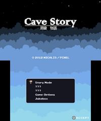 Cave Story (Nintendo eShop) Title Screen