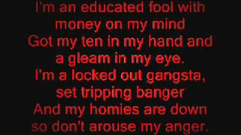 In Fear And Faith - Gangstas Paradise (lyrics)