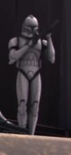 Unidentified clone trooper sergeant