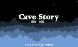 Cave Story (Nintendo eShop) Title