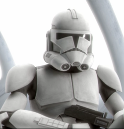 Unidentified clone trooper Fives