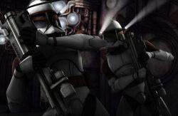 Fil's troopers