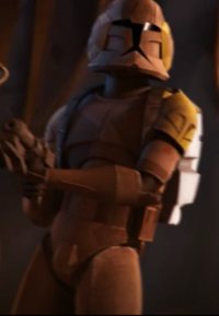Unidentified clone trooper 2