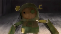 Garbage doll