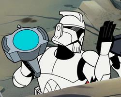 Unidentified ARC Trooper Private 3 (Muunilinst)