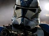 Senior clone commander