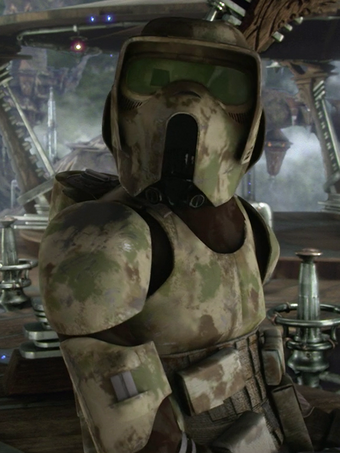 Unidentified Clone Scout Trooper Kashyyyk Clone Wiki Fandom
