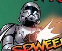 Bolt clone trooper