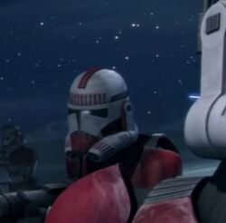Unidentified Coruscant Guard heavy weapons specialist 2