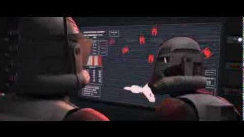 Star Wars The Clone Wars - Commander Thorn Death
