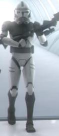 Unidentified clone trooper Kamino Security 1